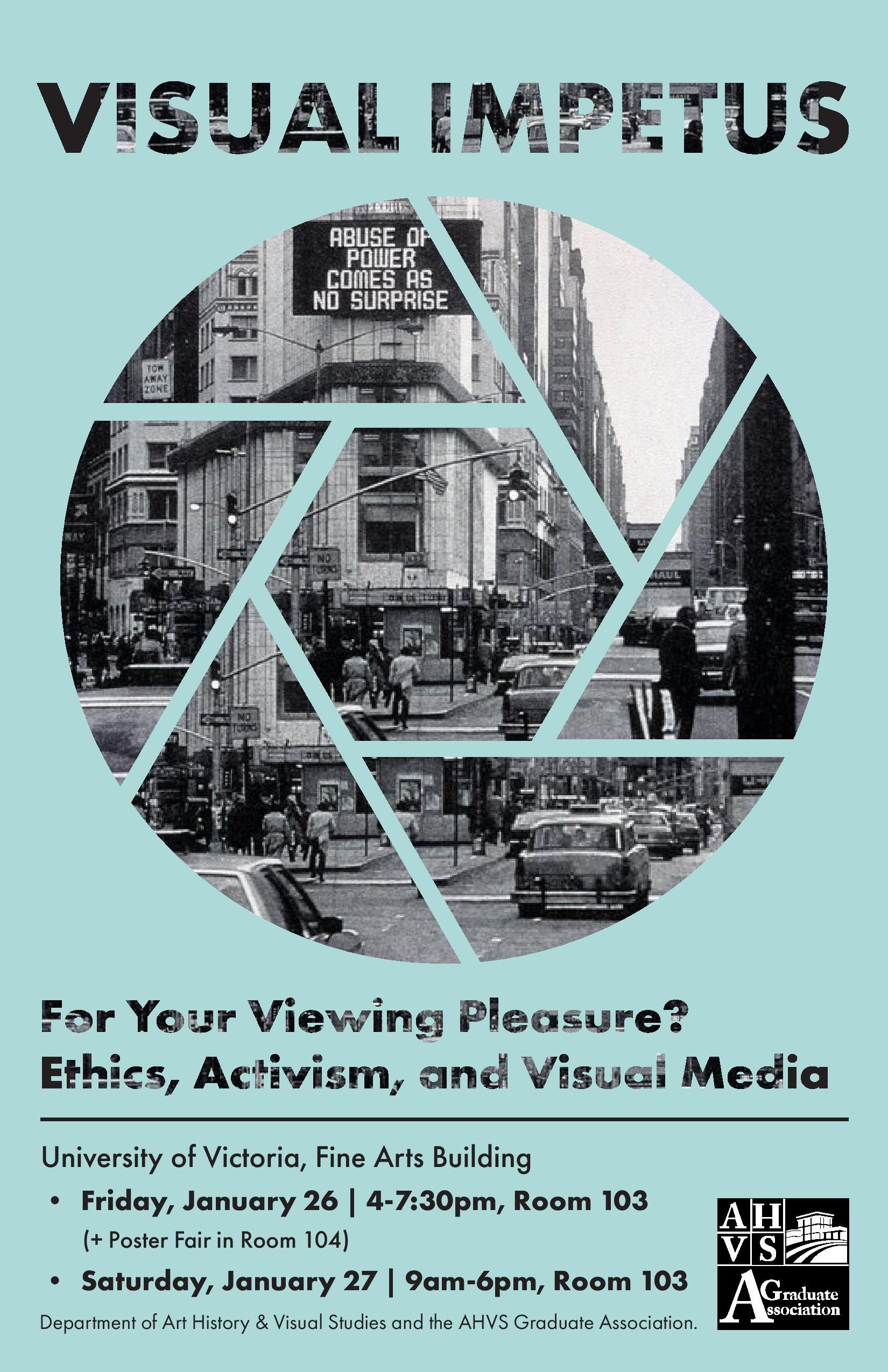 Visual Impetus – Past Conferences | AHVS Graduate Association