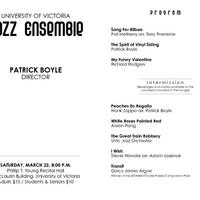 Jazz Ensemble · Music Archive