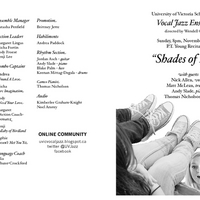Vocal Jazz Ensemble - Shades of Blue