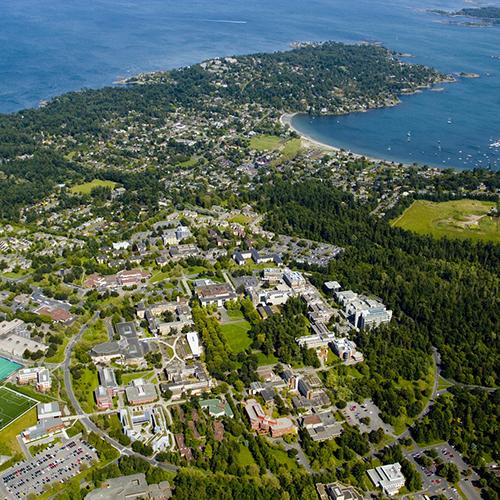 UVic campus