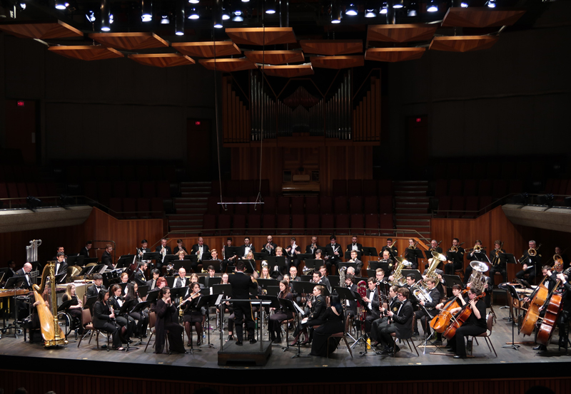 UVic Wind Symphony & The Naden Band