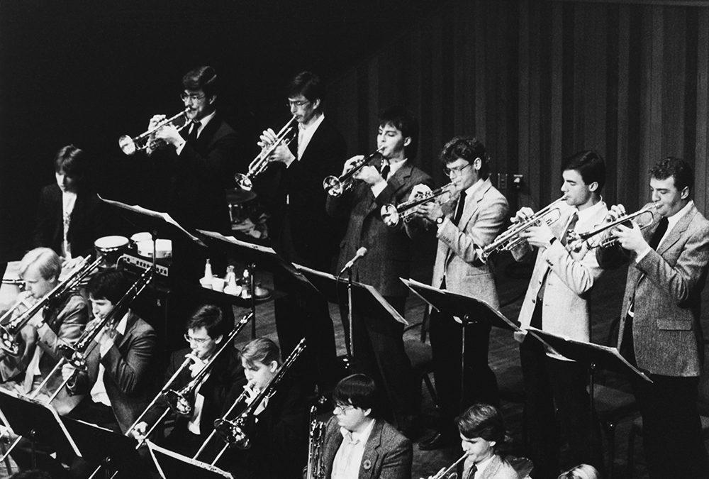 UVic Jazz Band 1989