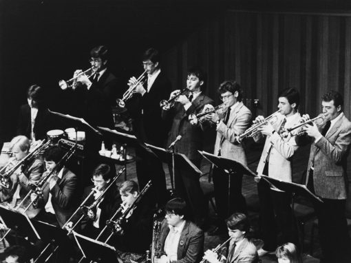 UVic Jazz Band 1989
