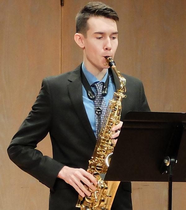 Saxophone Studio Recital