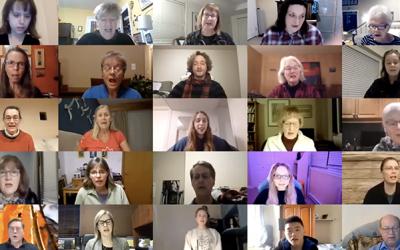 Choirs collaborate virtually across Canada