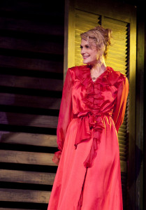 Thea Gill earned critical kudos for her turn as Blanche Dubois in Blue Bridge's A Streetcar Named Desire (Tim Matheson photo)