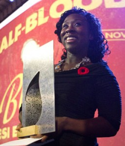 Congratulations to Esi Eudgyan on her Giller Prize win! (photo: Chris Young/Canadian Press)