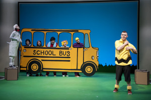 The Phoenix cast of You're A Good Man, Charlie Brown (photo: David Lowes)