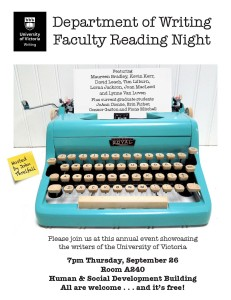WR Faculty reading poster_'13_Final