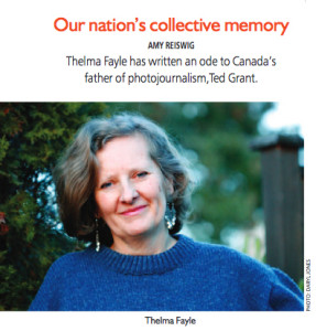 Thelma Fayle in Focus magazine