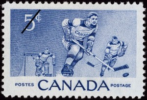 Hockey+stamp+1956