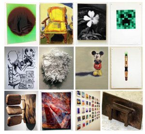 Just a few of the 60 pieces up for auction