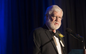 Michael Whitfield at UVic's Distinguished Alumni Awards