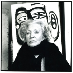 Portrait of Margaret Peterson by Curtis Lantinga, 1978