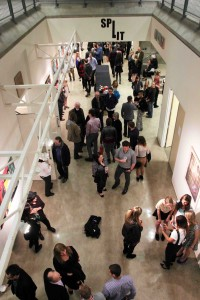 Opening night of the recent BFA show Split hints at the diversity of the Visual Arts building
