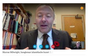 Skype interviewed from Belgium!