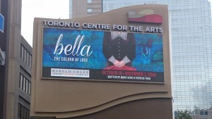A good sign: Bella in Toronto