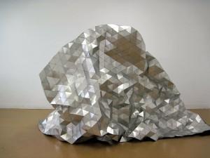 "Megan Dickie's ""The Gleamer,"" last seen at Legacy Gallery"
