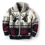 Not a real Cowichan Sweater, but the Olympic-branded knock-off