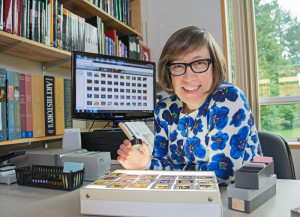 Art History's Iona Hubner (UVic Photo Services)