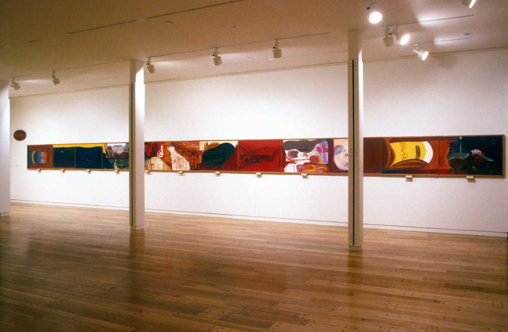 "Sandra Meigs' ""Baby"" (installation view, 1994)"