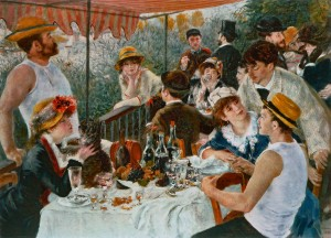 "Renoir's 1881 painting ""Le Déjeuner des Canotiers"" catches the flavour of Wild Honey"