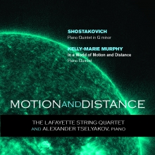 Motion and Distance, the new album by the LSQ