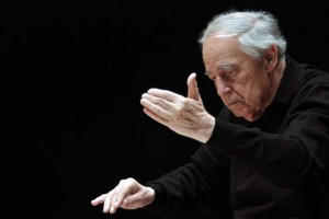 French composer, conductor, writer & pianist Pierre Boulez