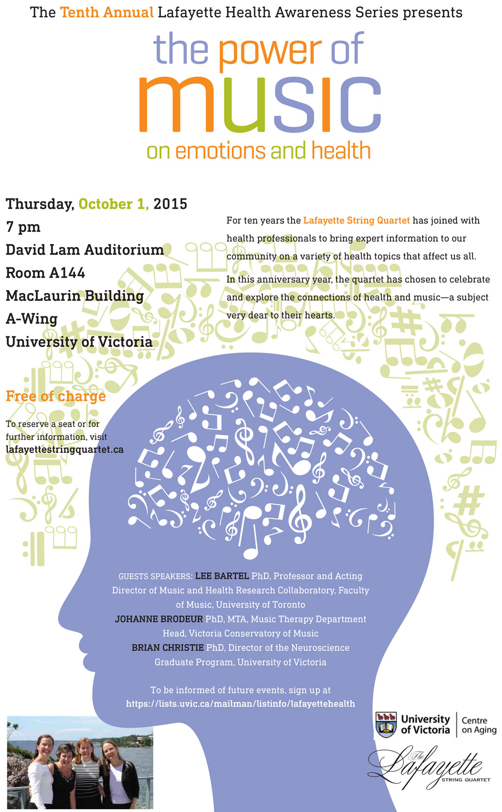 LSQ forum explores healing power of music | Fine Arts Research