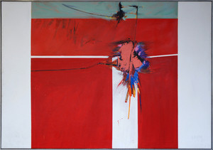 "Harvey's ""Interference"" (1964, acrylic on canvas), Legacy Galleries"