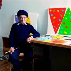 Prize creator & Canadian painter Gershon Iskowitz
