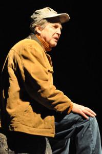 Clayton Jevne in Theatre Inconnu's Spit Delaney's Island