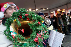 'Tis the season for TubaChristmas (photo: Kristy Farkas)