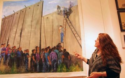 Astri Wright curates International Women's Day exhibit