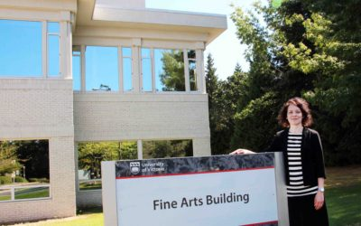 Dr Susan Lewis becomes the new Dean of Fine Arts