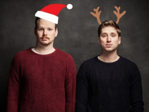 It's beginning to look a lot like Peter (left) and Chris (right)