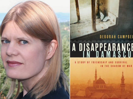 From Damascus to deadlines: Deborah Campbell joins Writing faculty