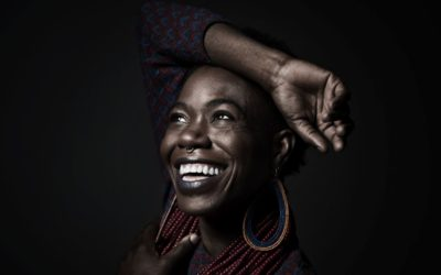 Visiting actor/playwright D'bi.Young Anitafrika focuses on diversity