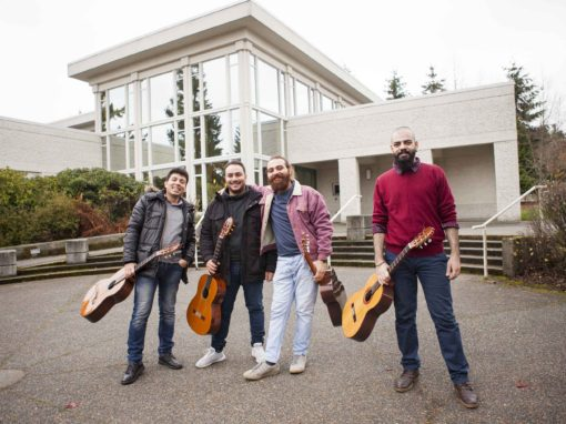 Syrian guitar quartet completes UVic fellowship