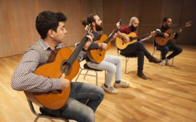 Syrian quartet escapes ravages of war for fellowship at UVic