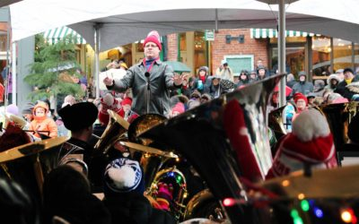 "TubaChristmas a ""sonic hug"" for the city"