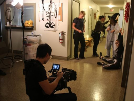 Donor's gift benefits film production classes
