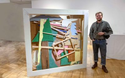 Visual Arts undergrad Austin Willis the only Canadian winner of US student sculpture award