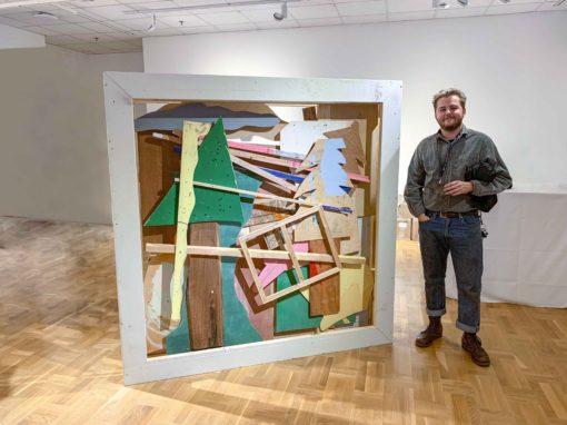 Visual Arts undergrad Austin Willis the only Canadian winner of US student sculpture award