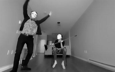 Theatre class assignment: mask movement