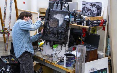 Annual Visual Arts BFA exhibit spotlights work created under COVID conditions