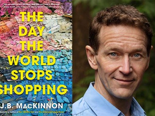 Orion Lecture: The Day The World Stops Shopping