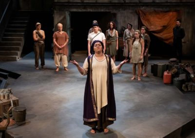 Hecuba prepares to hear her fate