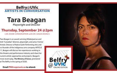 Belfry@UVic: Tara Beagan