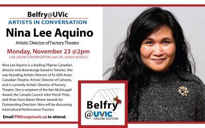 Belfry@UVic: Nina Lee Aquino